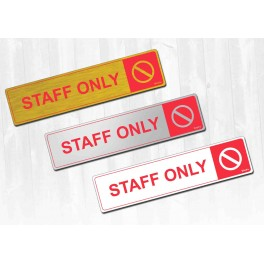 S-007 Staff Only